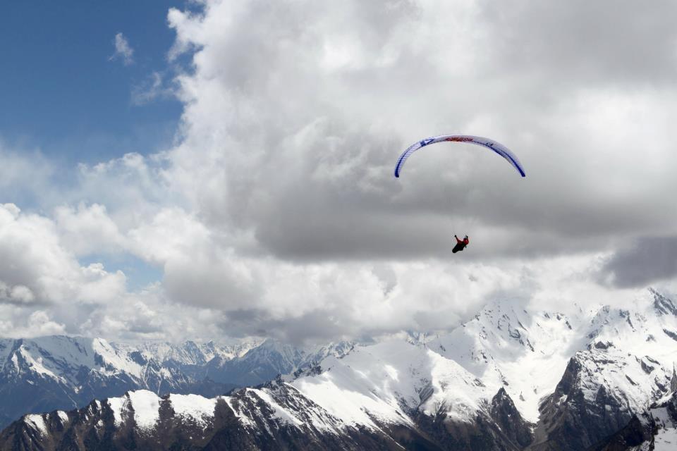First Flight in Hunza